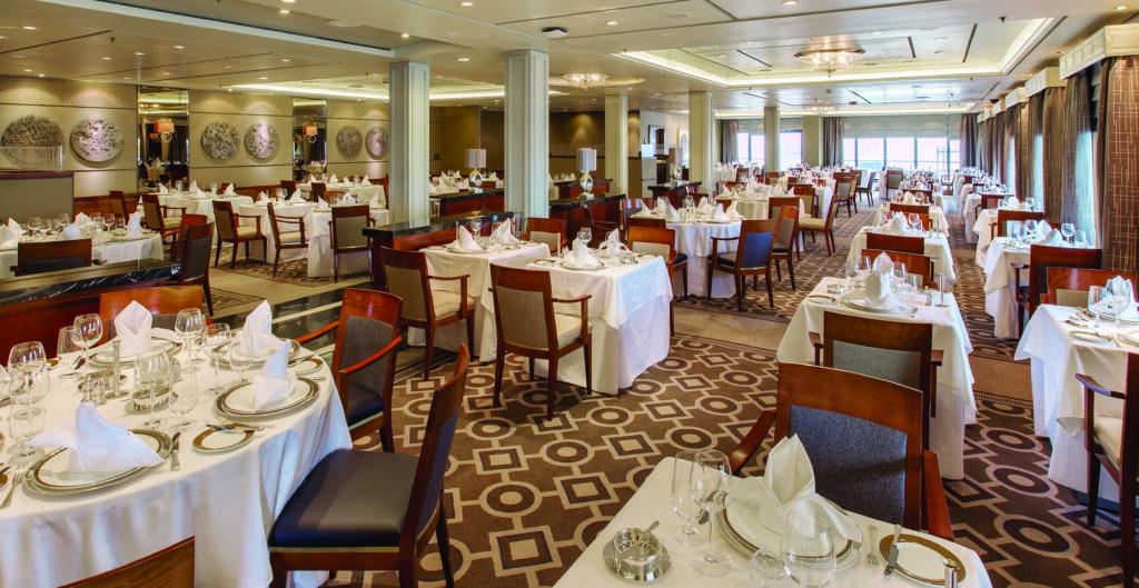 Cruiseschip-Queen Mary 2-Cunard-Restaurant