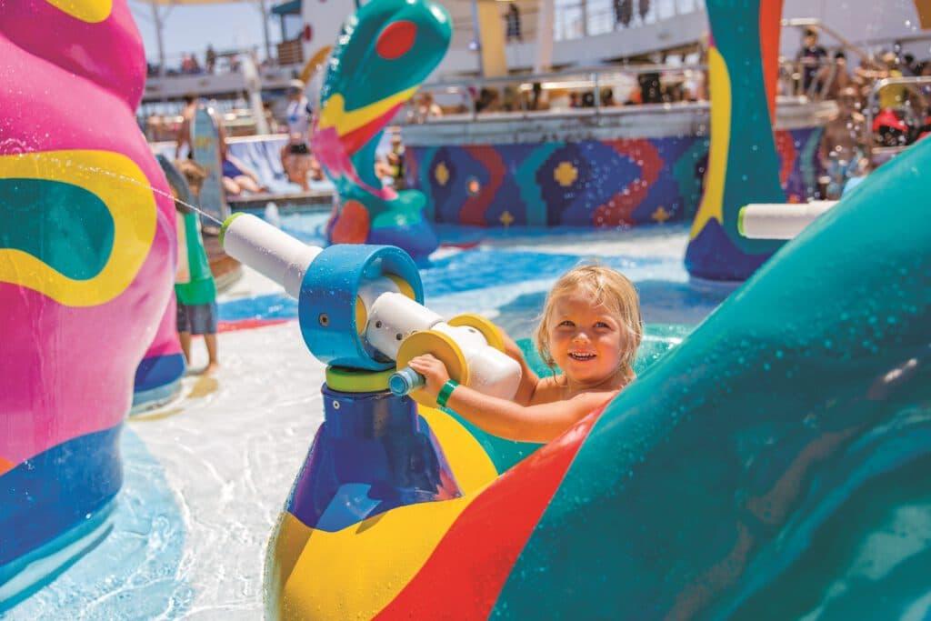 Cruiseschip-Allure of the Seas-Royal Caribbean International-Kinderzwembad