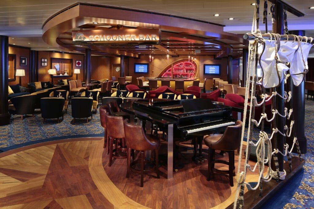 Cruiseschip-Anthem of the Seas-Royal Caribbean International-Schooner Bar