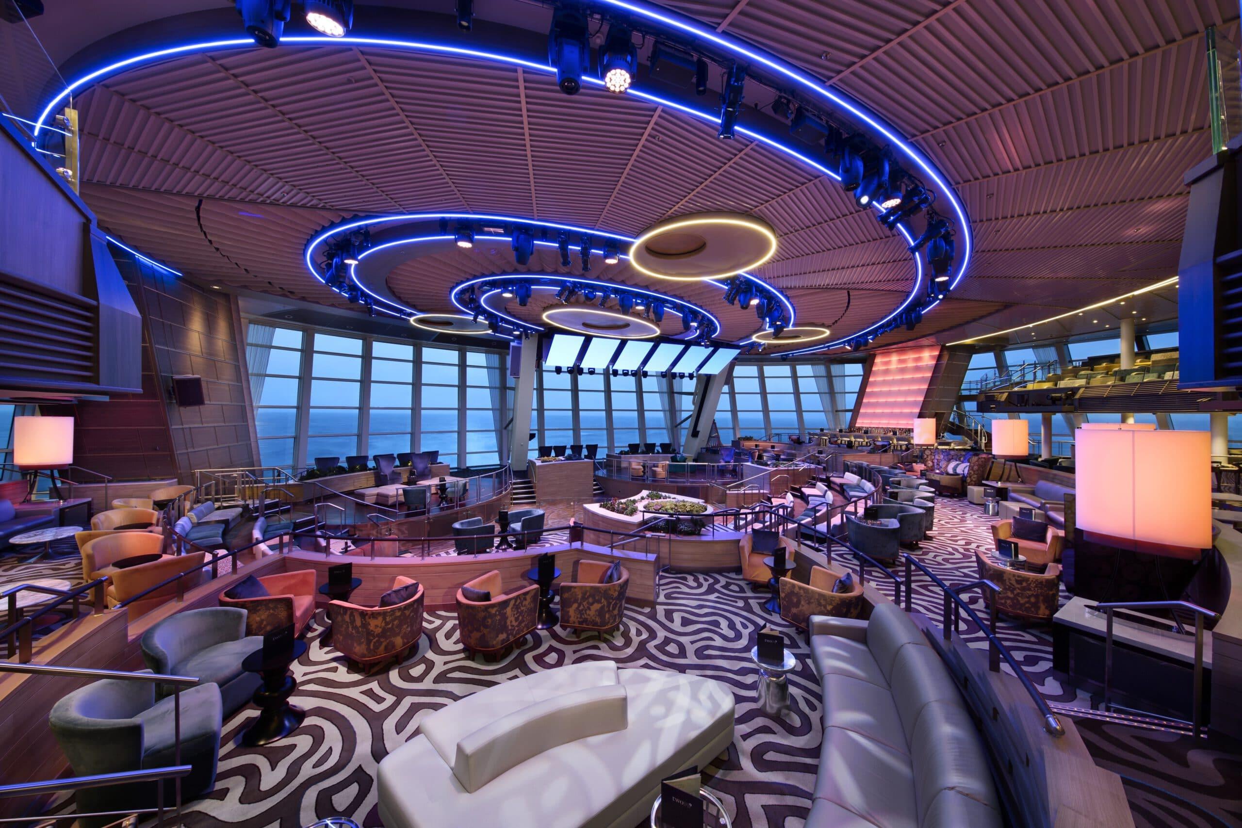 Cruiseschip-Anthem of the Seas-Royal Caribbean International-Two 70 Lounge