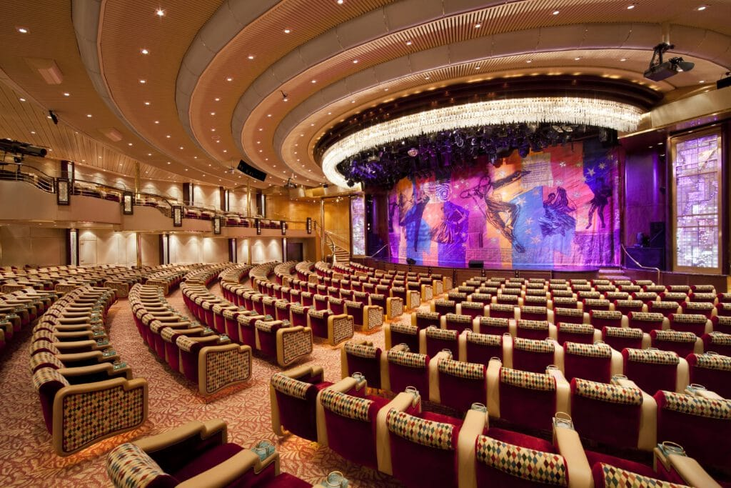 Cruiseschip-Rhapsody of the Seas-Royal Caribbean International-Theater