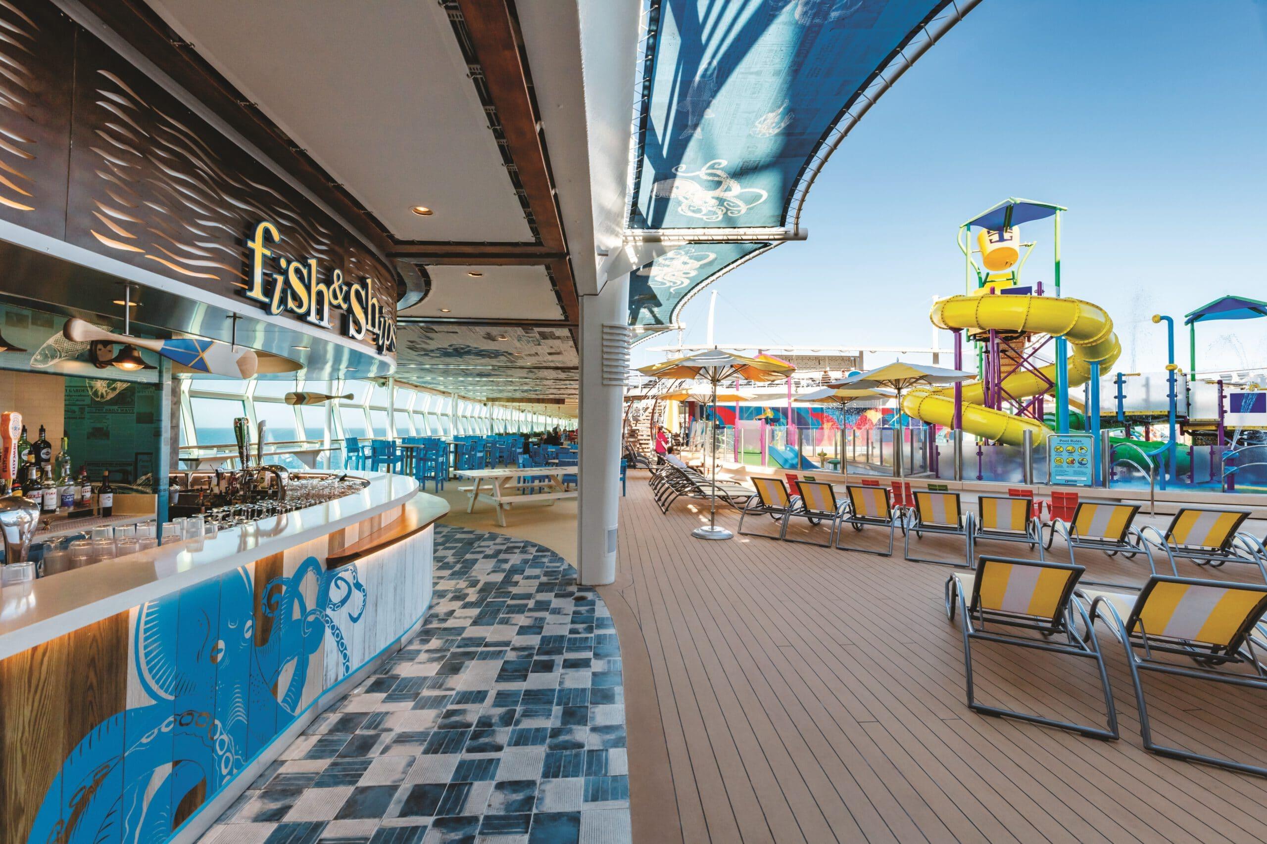 Cruiseschip-Independence of the Seas-Royal Caribbean International-Fish&Ships/Pool Deck