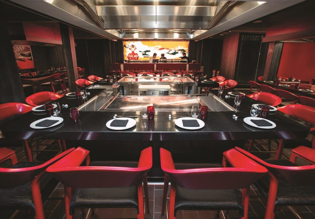 Cruiseschip-Freedom of the Seas-Royal Caribbean International-Restaurant Izumi