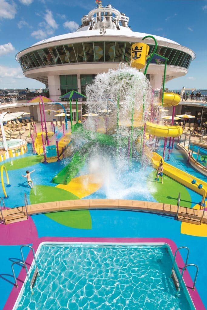 Cruiseschip-Independence of the Seas-Royal Caribbean International-Splash Aquapark