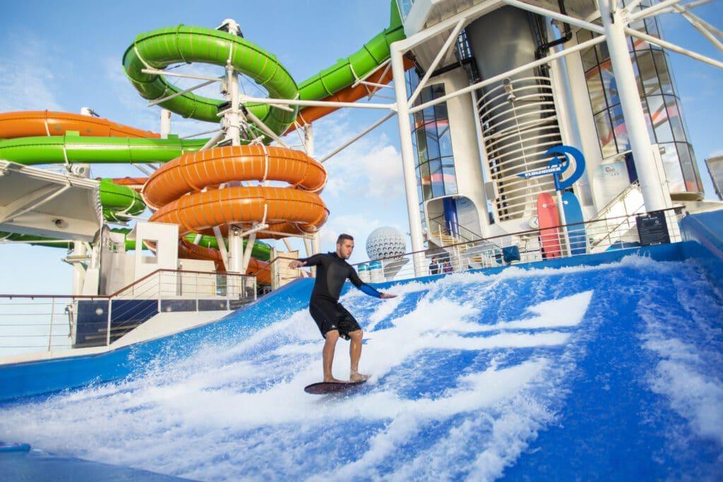 Cruiseschip-Freedom of the Seas-Royal Caribbean International-Flowrider