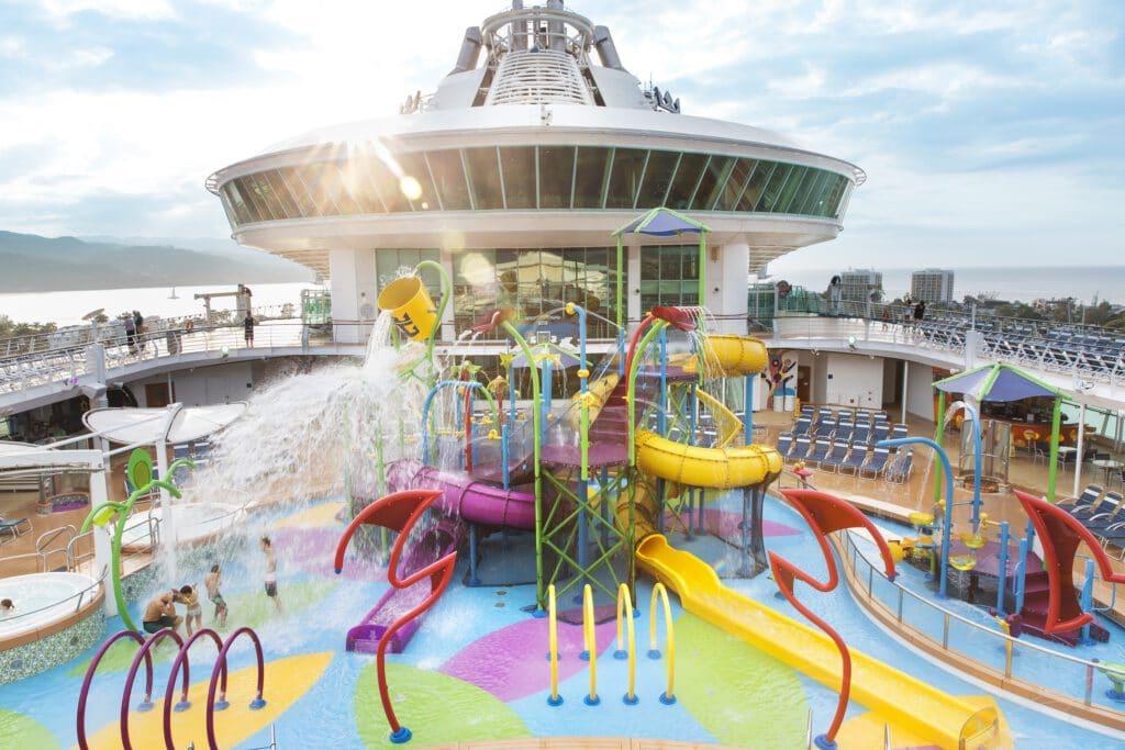 Cruiseschip-Freedom of the Seas-Royal Caribbean International-Splash Aquapark