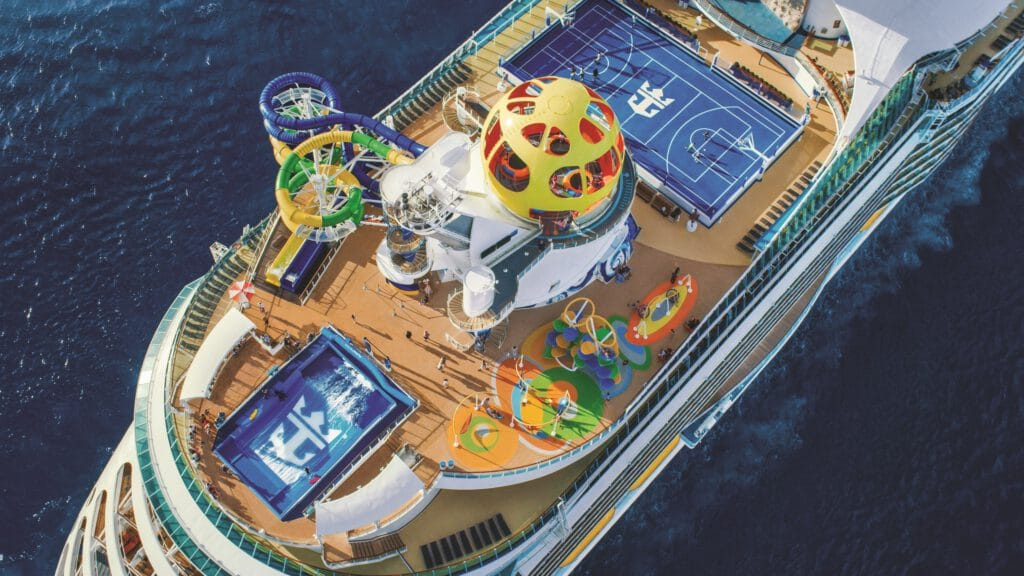 Cruiseschip-Voyager of the Seas-Royal Caribbean International-Schip