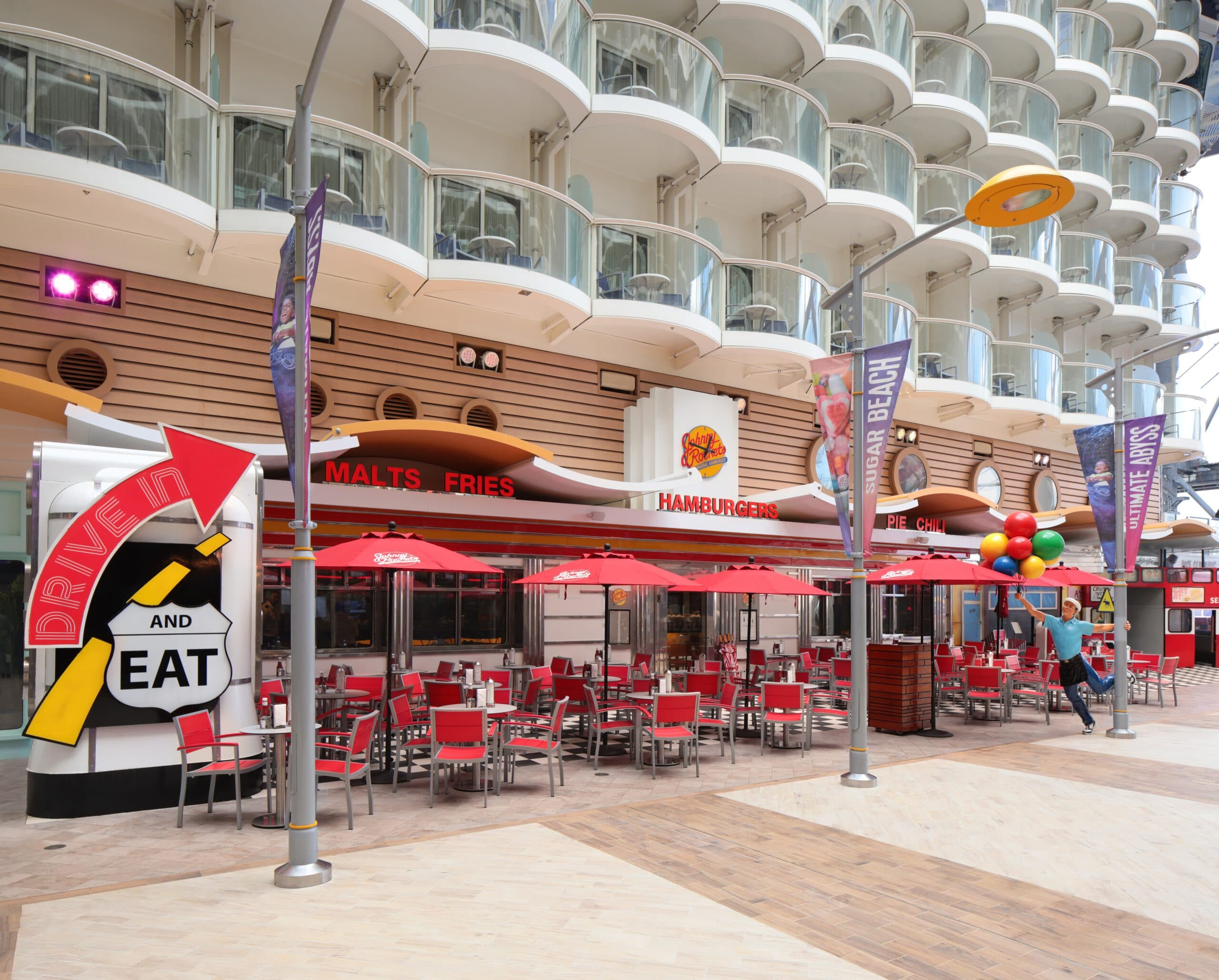Cruiseschip-Oasis of the Seas-Royal Caribbean International-Johnny Rockets