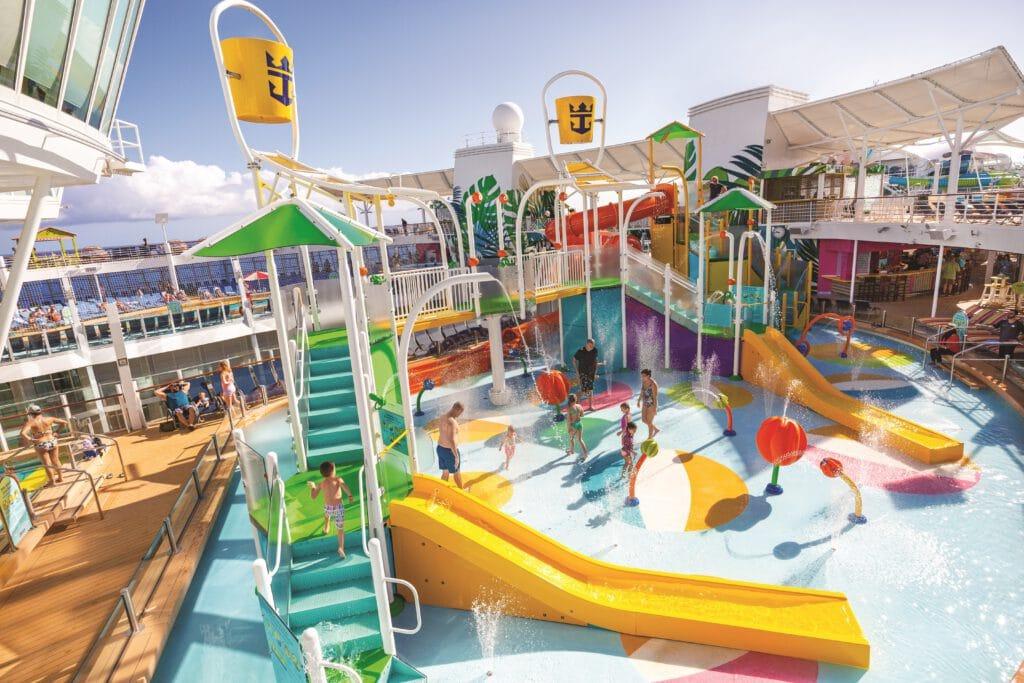 Cruiseschip-Oasis of the Seas-Royal Caribbean International-Splash Aquapark