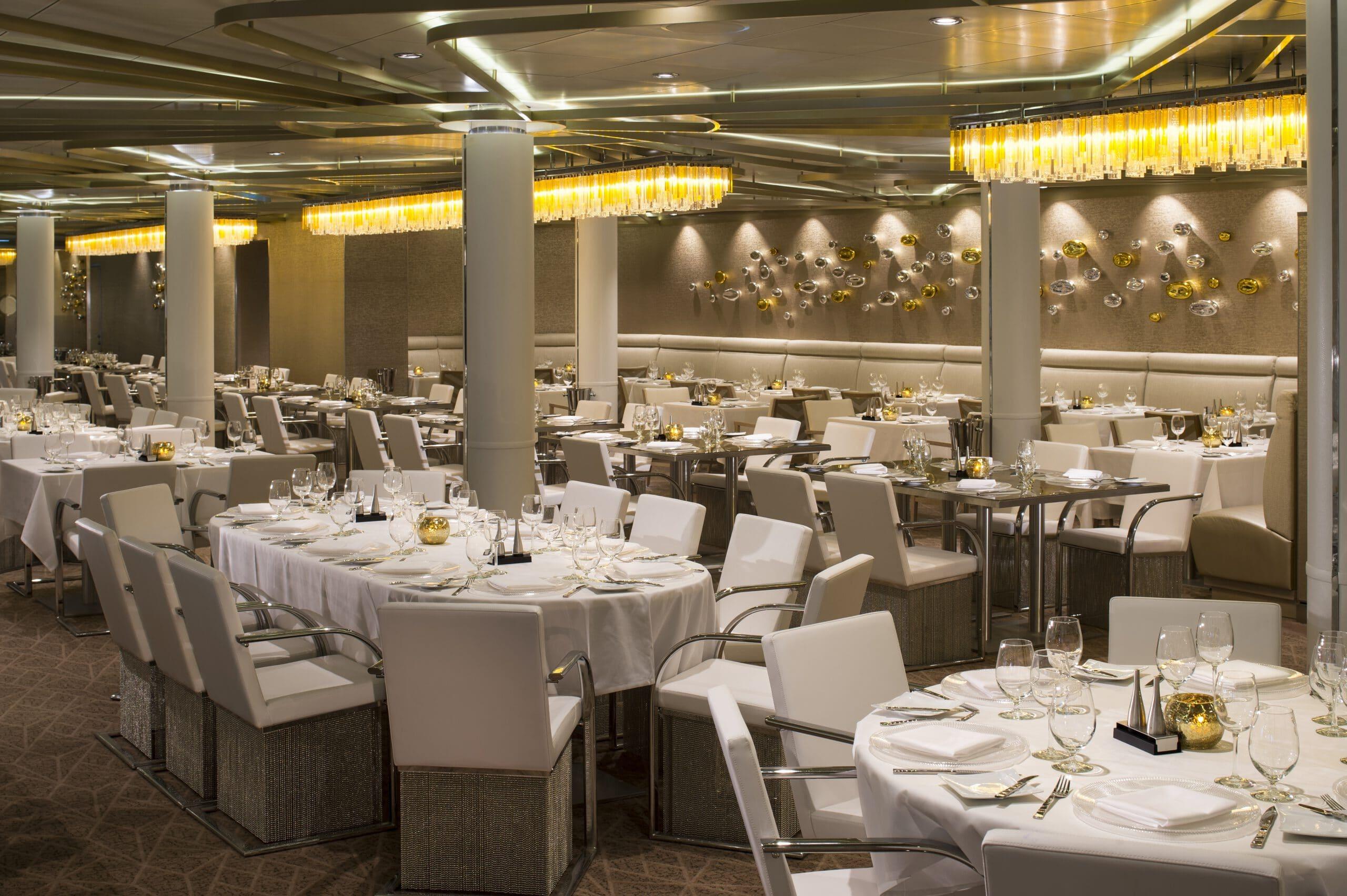 Cruiseschip-Odyssey of the Seas-Ovation of the Seas-Quantum of the Seas-Spectrum of the Seas-Royal Caribbean International-Restaurant Chic