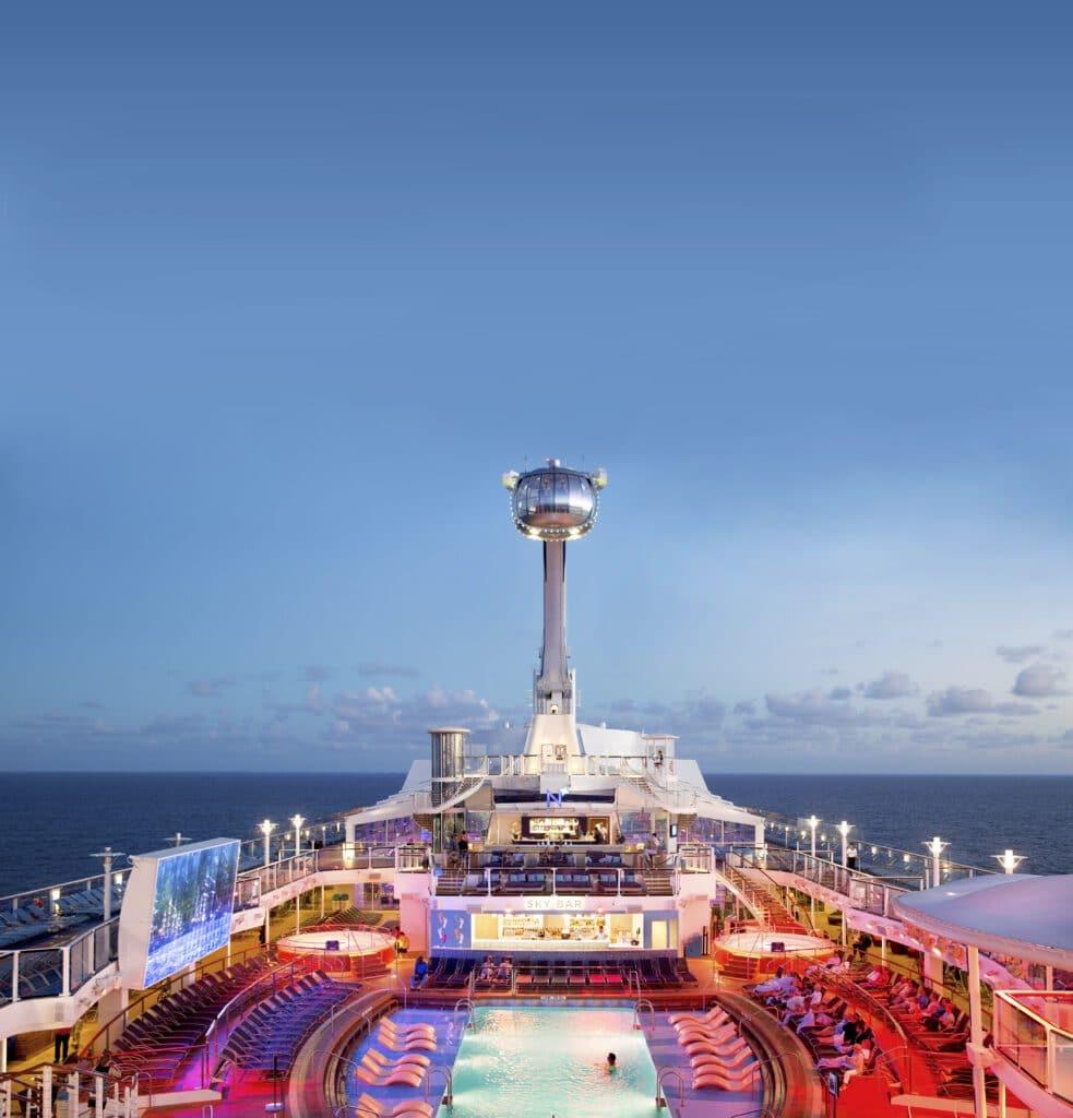Cruiseschip-Odyssey of the Seas-Ovation of the Seas-Quantum of the Seas-Spectrum of the Seas-Royal Caribbean International-North Star