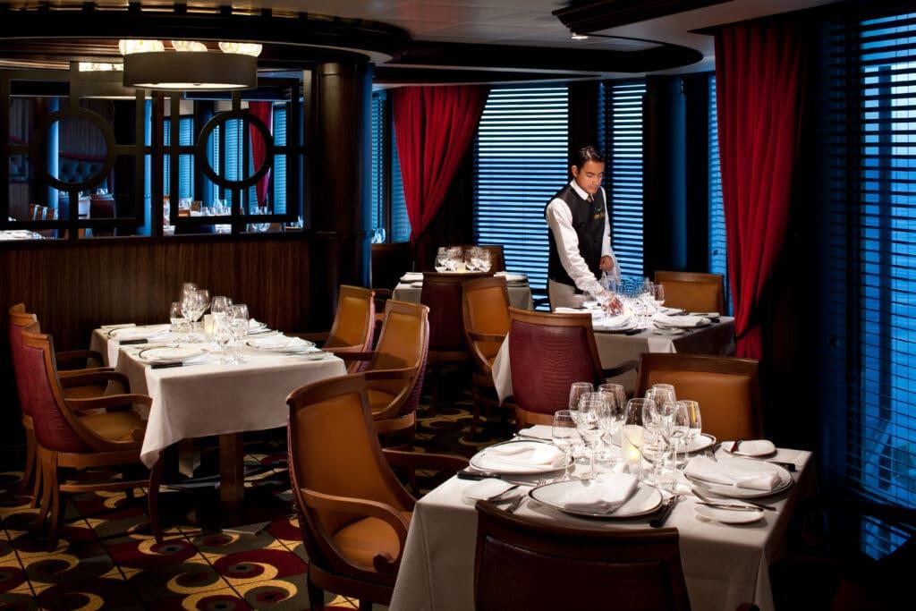 Cruiseschip-Rhapsody of the Seas-Royal Caribbean International-Restaurant Chops Grille