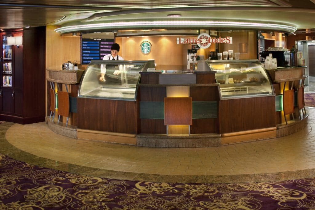 Cruiseschip-Rhapsody of the Seas-Royal Caribbean International-Koffiebar