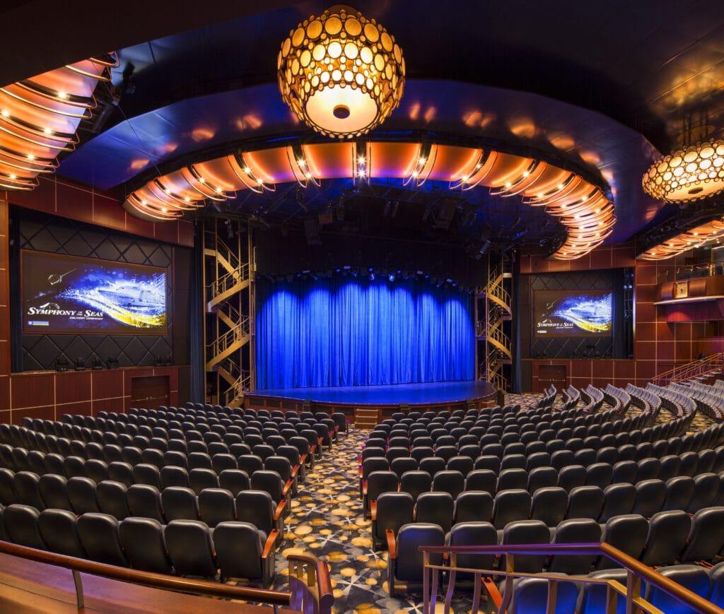 Cruiseschip-Symphony of the Seas-Royal Caribbean International-Theater
