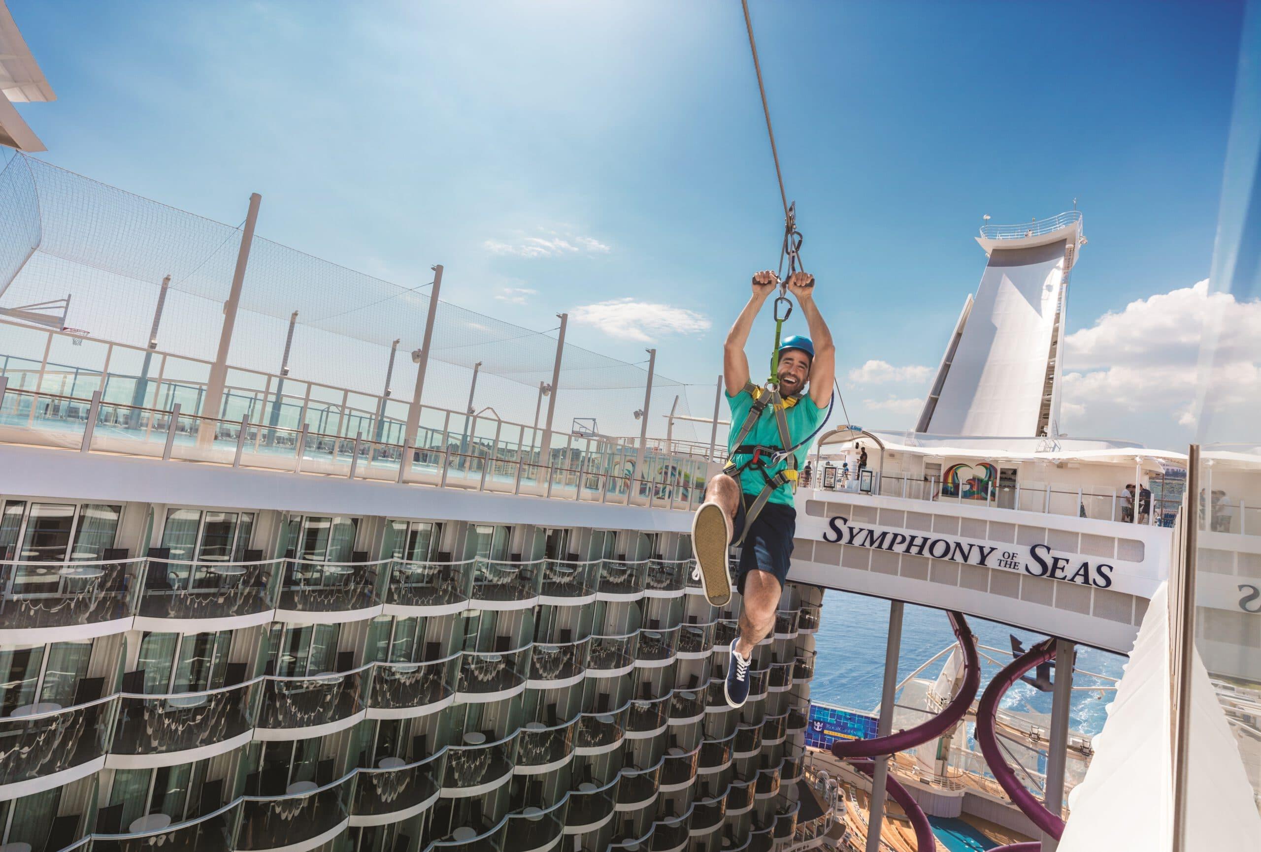 Cruiseschip-Symphony of the Seas-Royal Caribbean International-Zip Line
