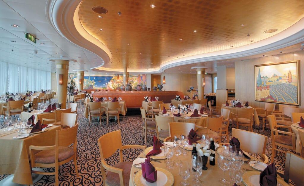 Cruiseschip-Serenade of the Seas-Royal Caribbean International-Restaurant Portofino