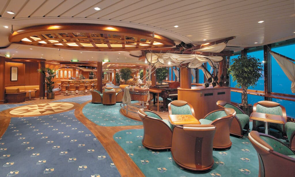 Cruiseschip-Radiance of the Seas-Royal Caribbean International-Schooner Bar