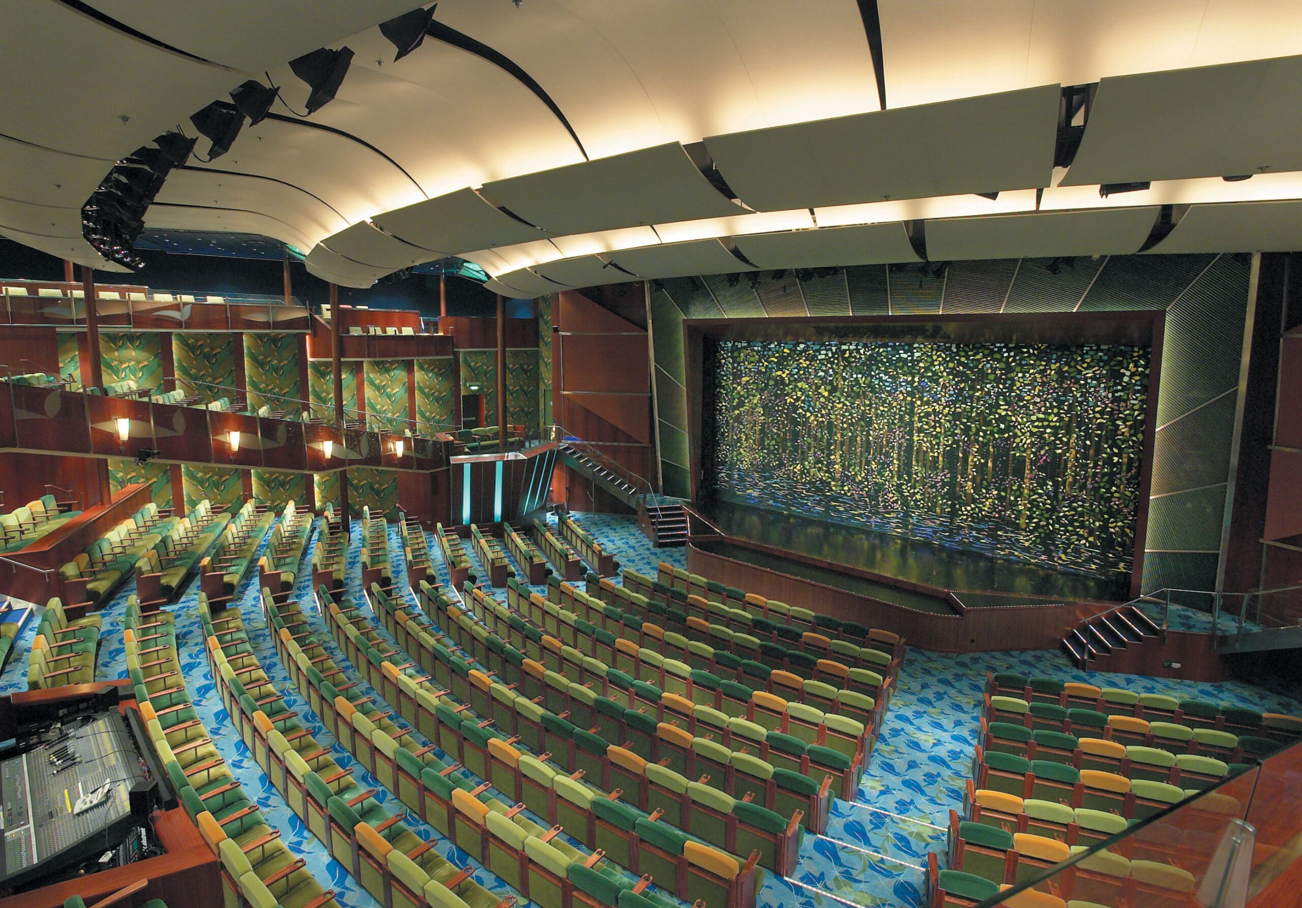 Cruiseschip-Serenade of the Seas-Royal Caribbean International-Theater
