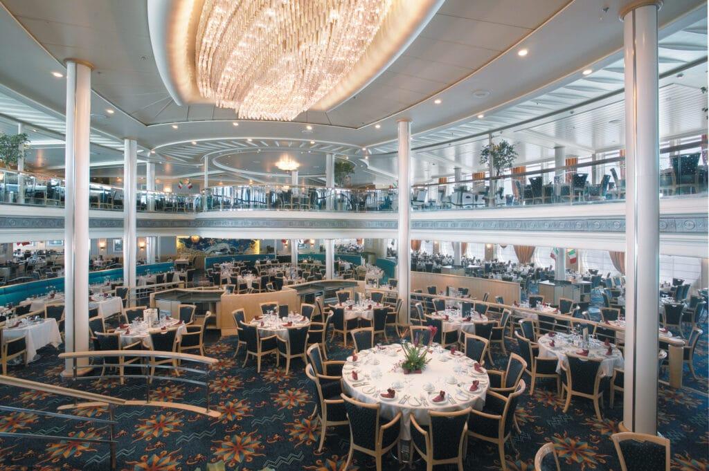 Cruiseschip-Vision of the Seas-Royal Caribbean International-Restaurant Aquarius