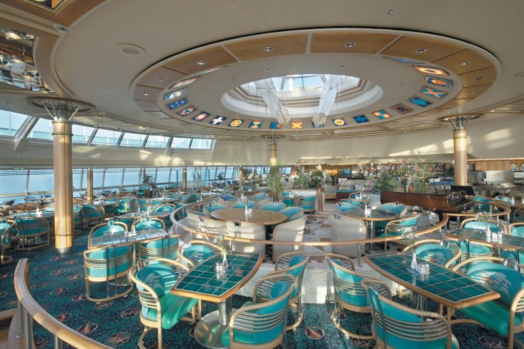 Cruiseschip-Vision of the Seas-Royal Caribbean International-Windjammer Cafe Buffet Restaurant