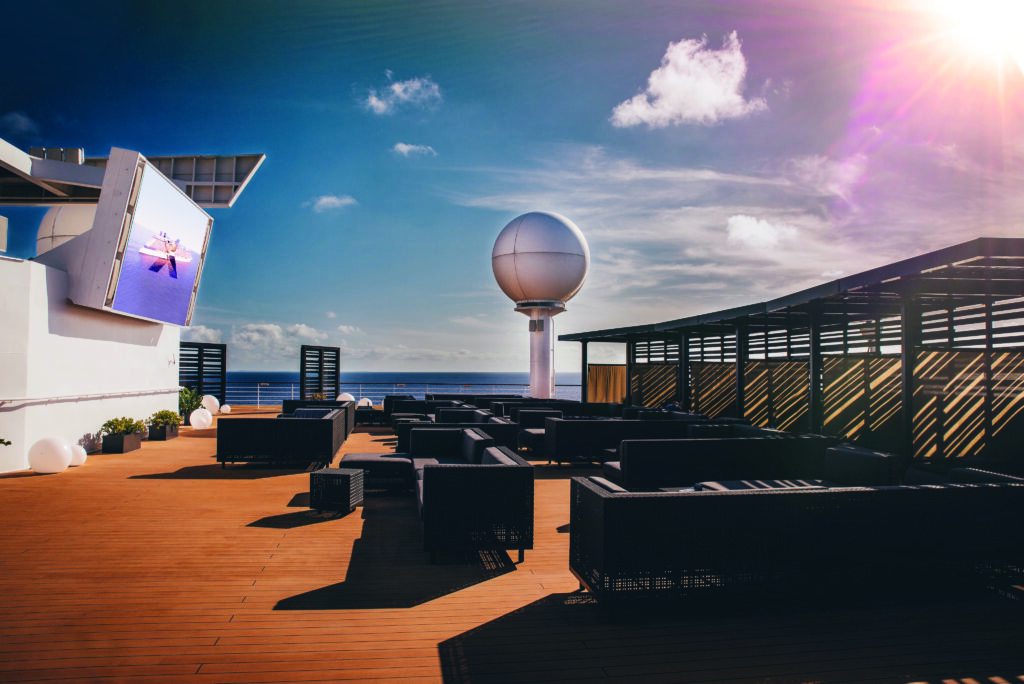 Cruiseschip-Celebrity Infinity-Celebrity Cruises-Rooftop