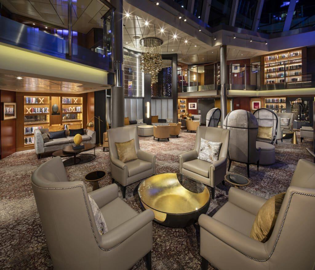 Cruiseschip-Celebrity Silhouette-Celebrity Cruises-Bibliotheek