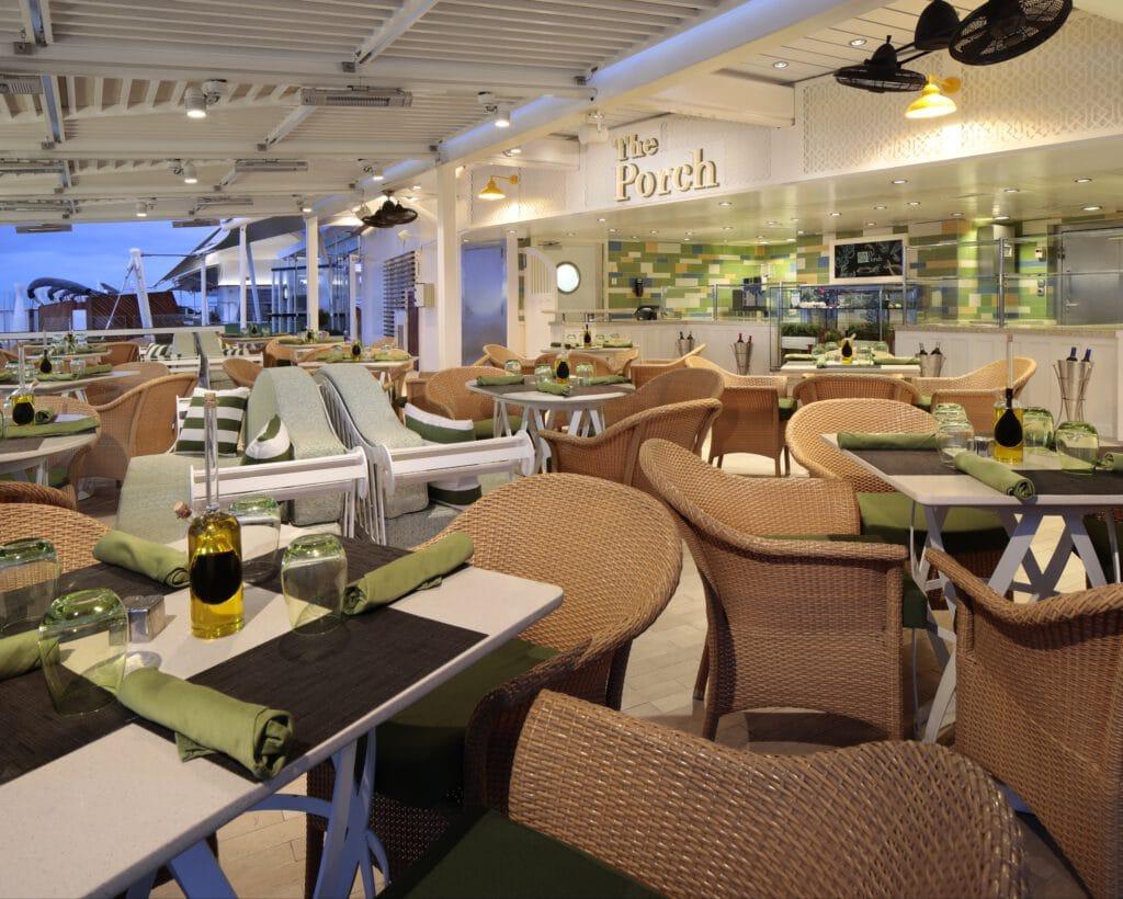 Cruiseschip-Celebrity Silhouette-Celebrity Cruises-The Porch