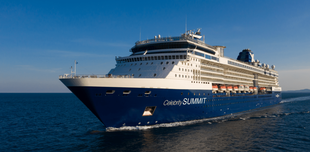 Cruiseschip-Celebrity Summit-Celebrity Cruises-Schi