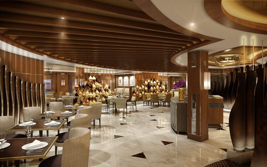 Cruiseschip-Sky Princess-Princess Cruises-Restaurant Sabatinis