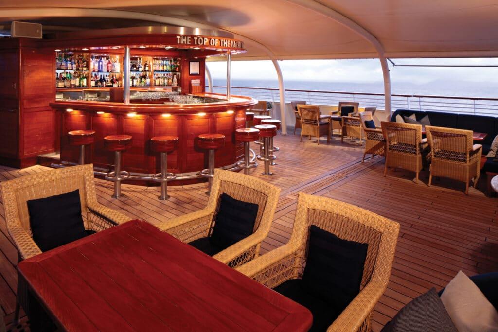 Cruiseschip-SeaDream I-Seadream Yacht Club-Bar