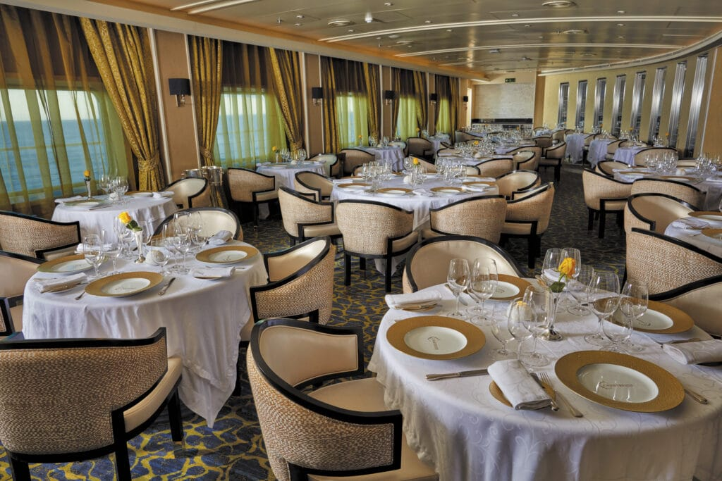 Cruiseschip-Seven Seas Voyager-Regent Seven Seas Cruises-Restaurant