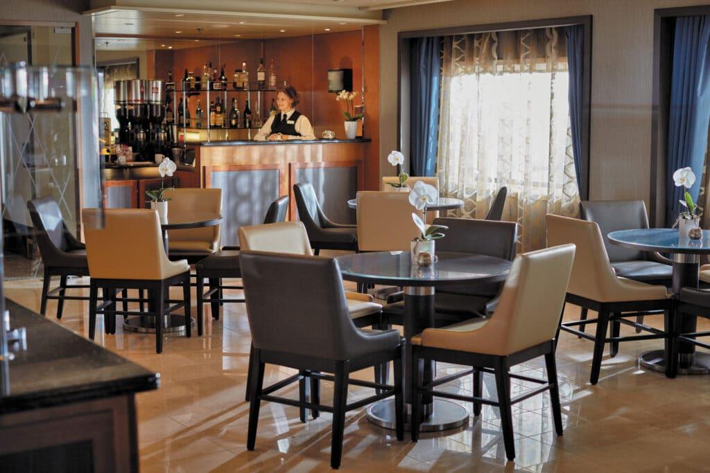 Cruiseschip-Seven Seas Voyager-Regent Seven Seas Cruises-Coffee Connection