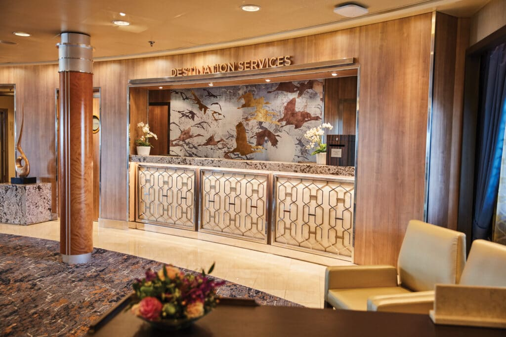 Cruiseschip-Seven Seas Voyager-Regent Seven Seas Cruises-Services