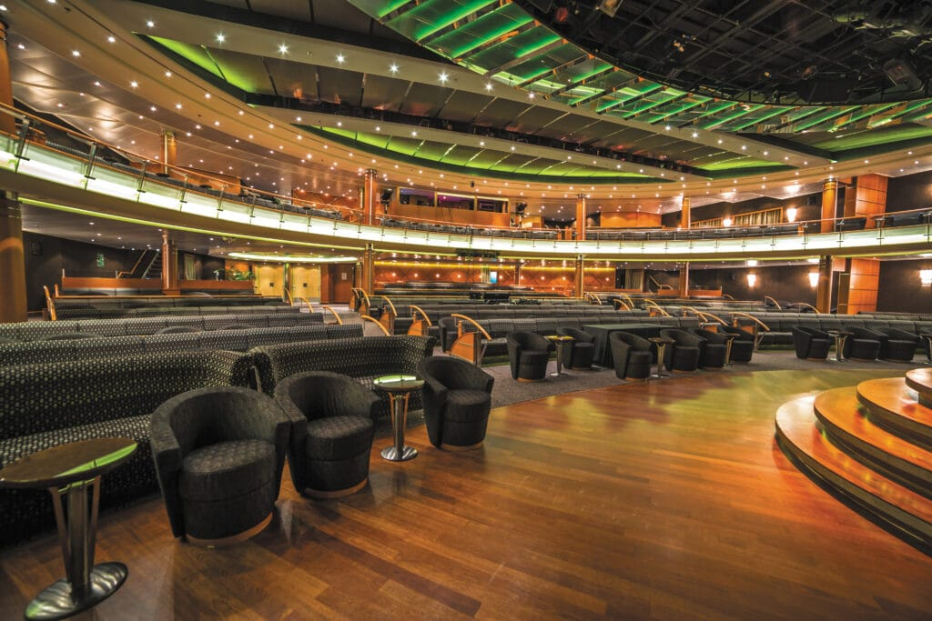 Cruiseschip-Seven Seas Voyager-Regent Seven Seas Cruises-Theater
