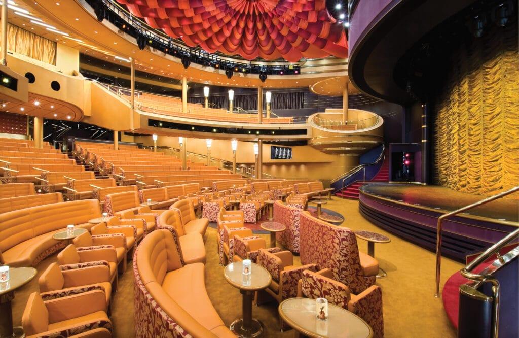 cruiseschip - Holland America Line - Noordam Vista Lounge