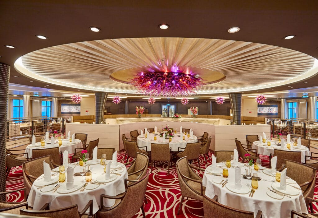 Cruiseschip-MS Europa 2 -Hapag Lloyd Cruises-Restaurant
