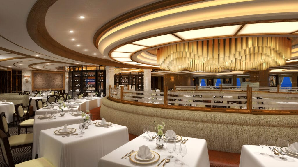 Cruiseschip-Sky Princess-Princess Cruises-Restaurant