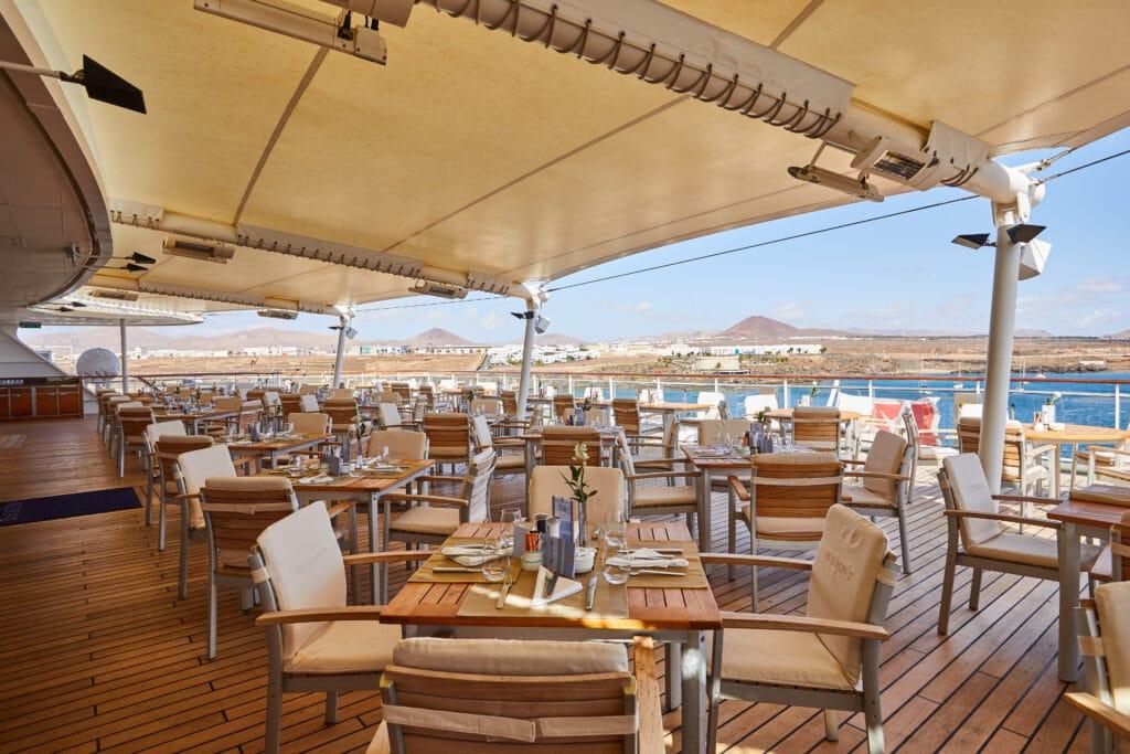 Cruiseschip-MS Europa 2 -Hapag Lloyd Cruises-Yacht Club