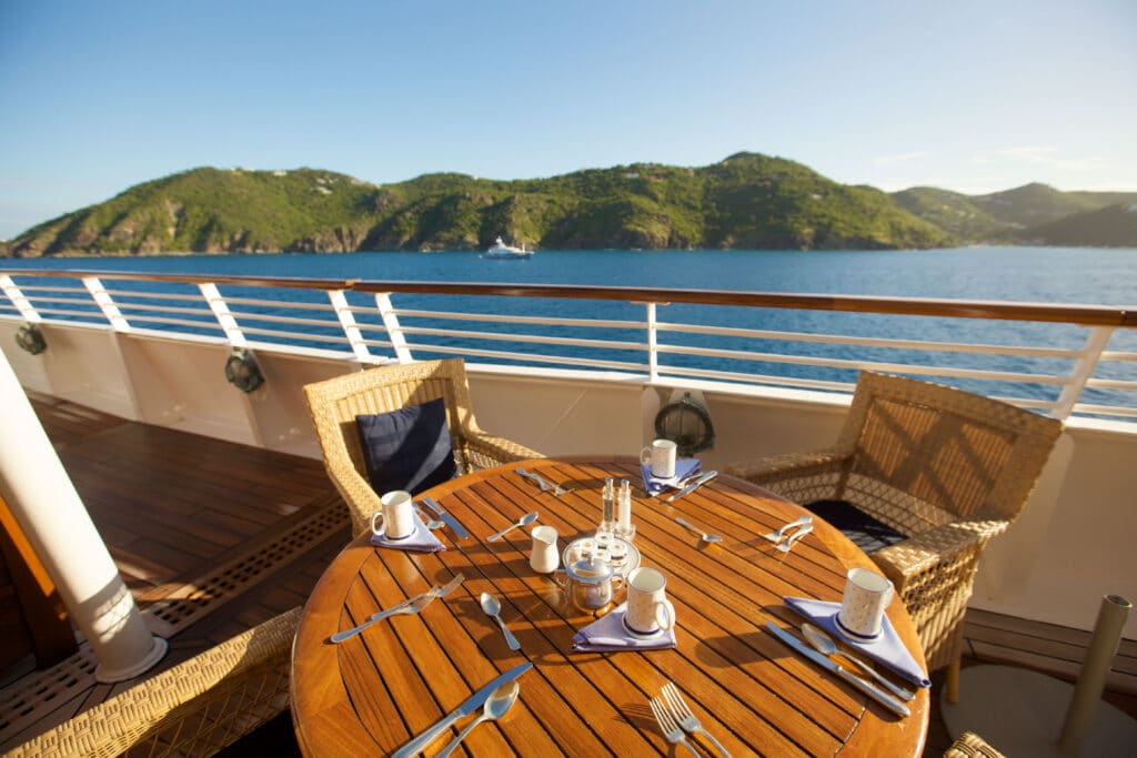 Cruiseschip-SeaDream I-Seadream Yacht Club-Deck