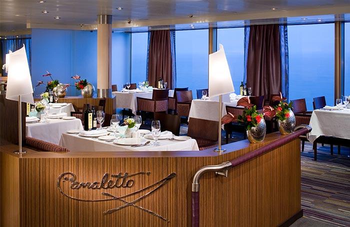 Cruiseschip-Volendam-Holland America Line-Canaletto Restaurant