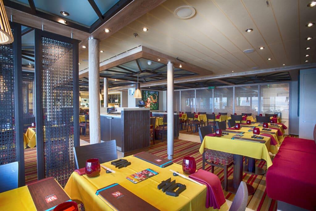 Cruiseschip-Carnival Vista-Carnival-Asian Restaurant