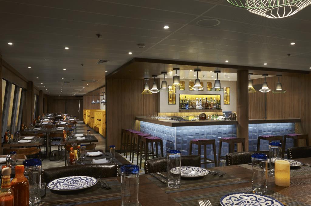 Cruiseschip-Norwegian Dawn-Norwegian Cruise Line-Restaurant Los Lobos