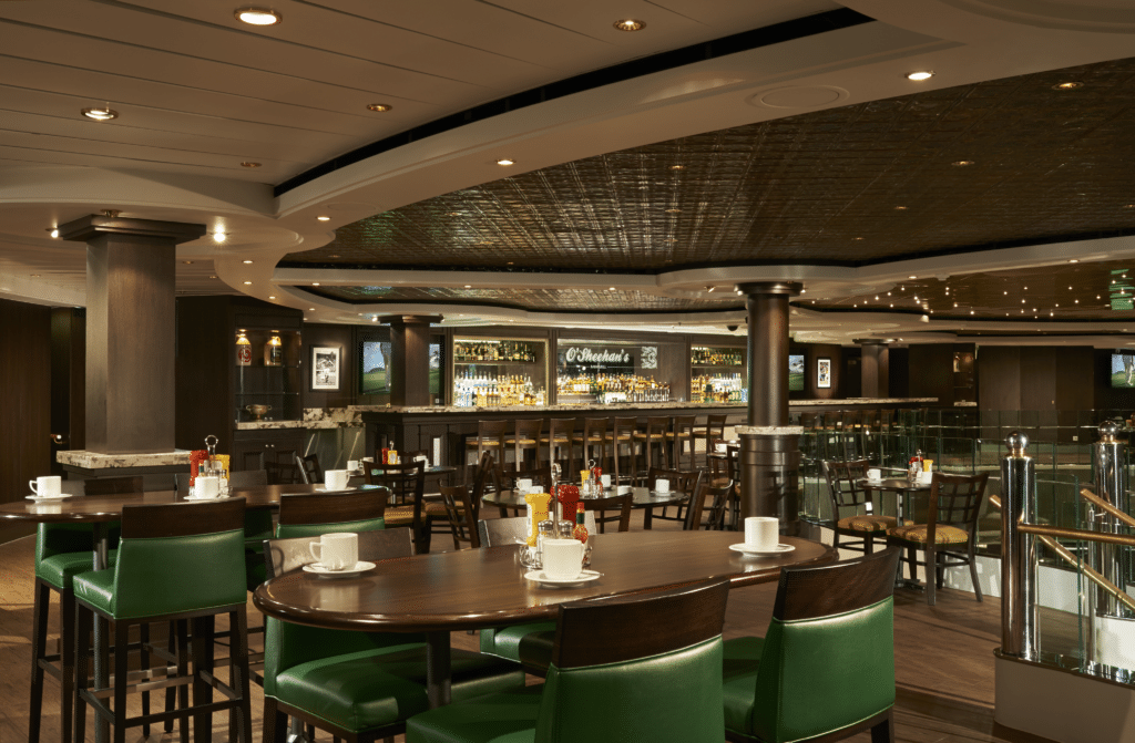 Cruiseschip-Norwegian Dawn-Norwegian Cruise Line-Restaurant O'Sheenan's