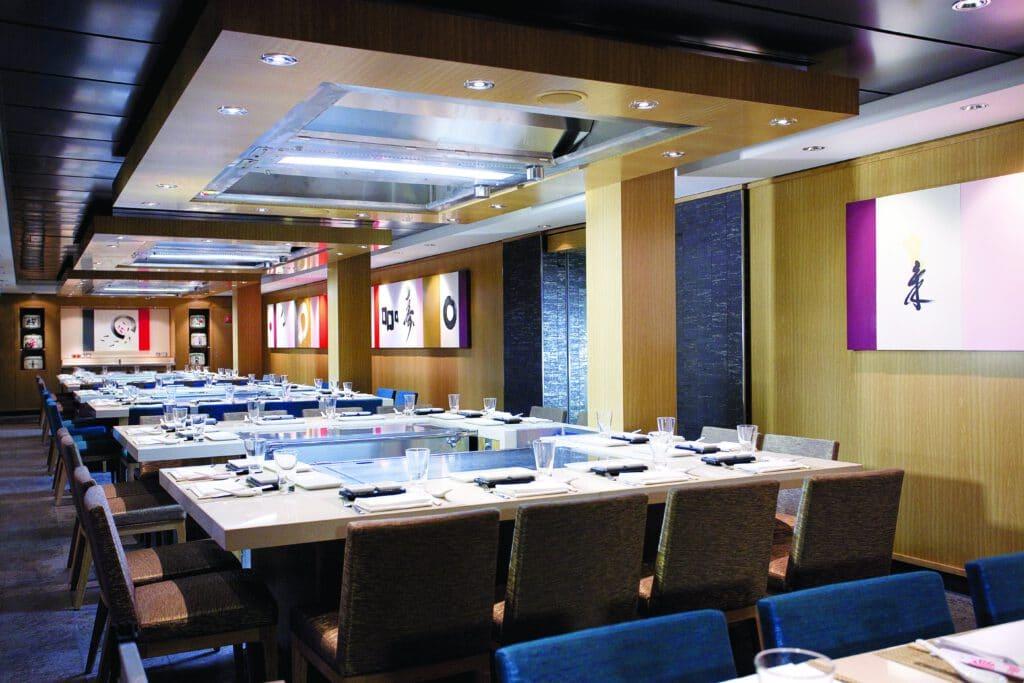 Cruiseschip-Norwegian Epic-Norwegian Cruise Line-Restaurant Teppanyaki