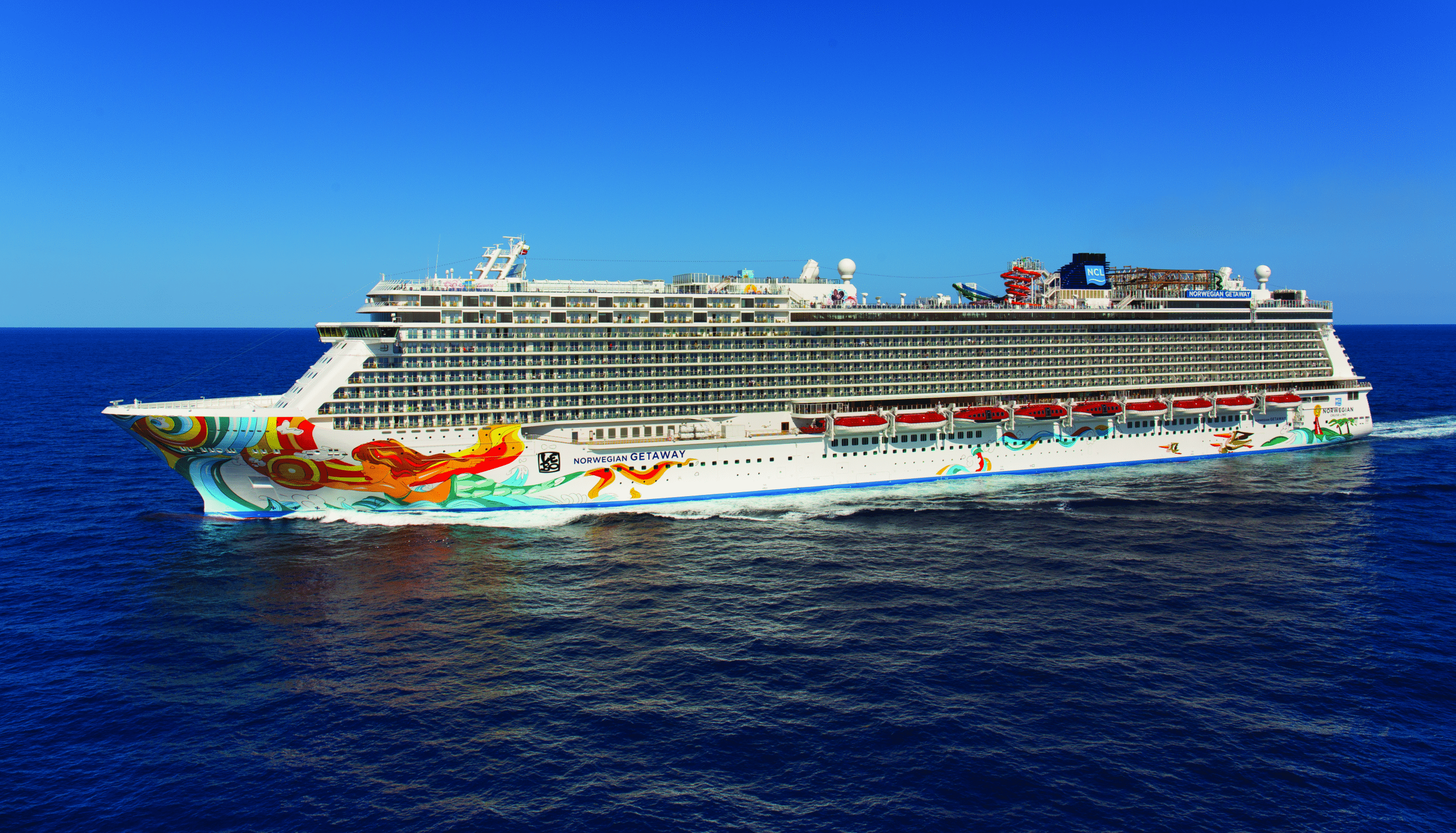 Cruiseschip-Norwegian Getaway-Norwegian Cruise Line-Schip