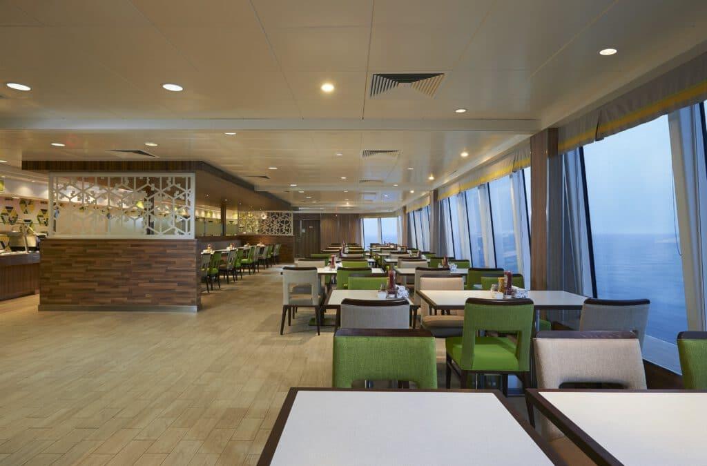 Cruiseschip-Norwegian Star-Norwegian Cruise Line-Restaurant Garden Cafe