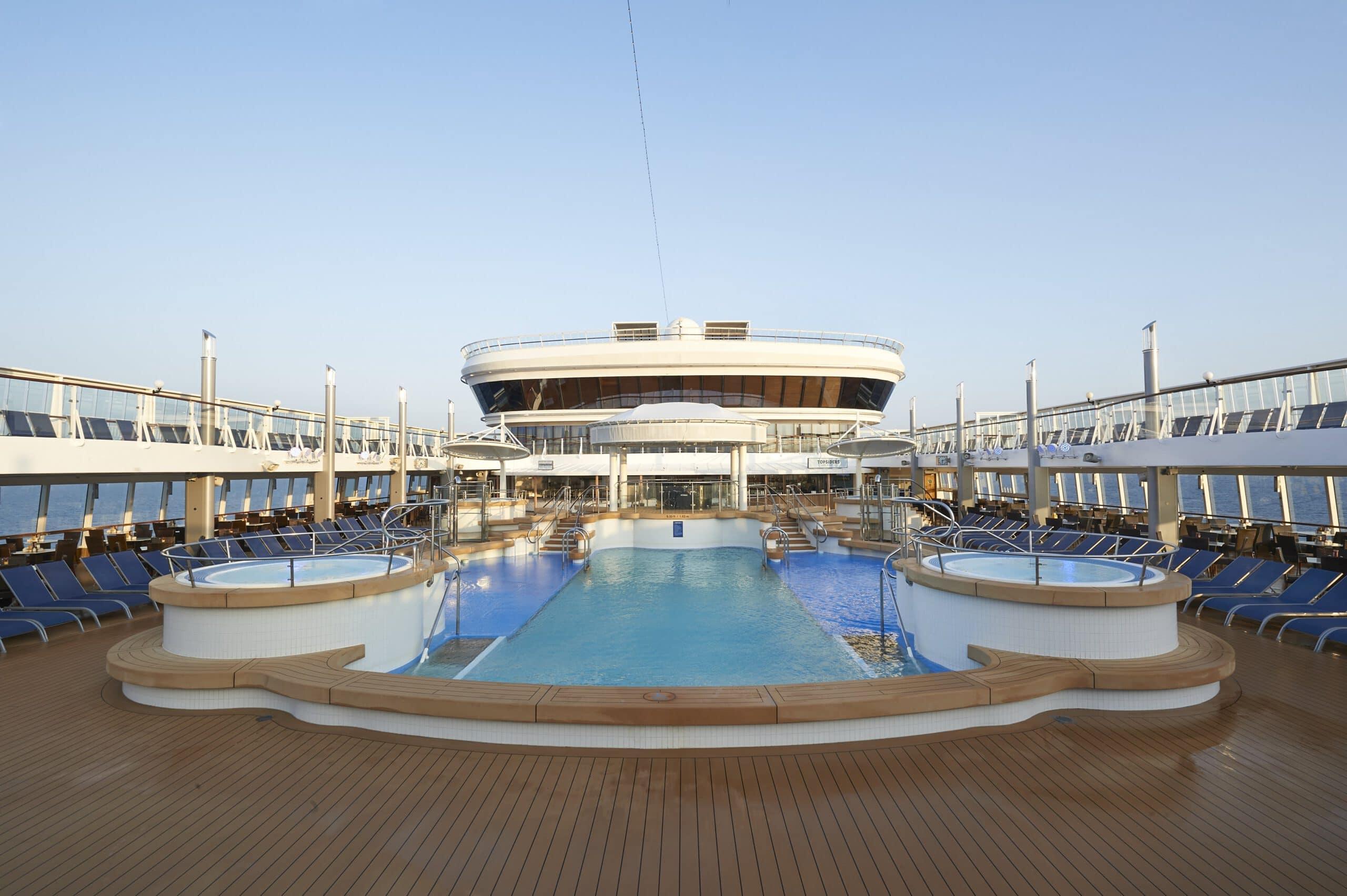 Cruiseschip-Norwegian Star-Norwegian Cruise Line-Zwembad