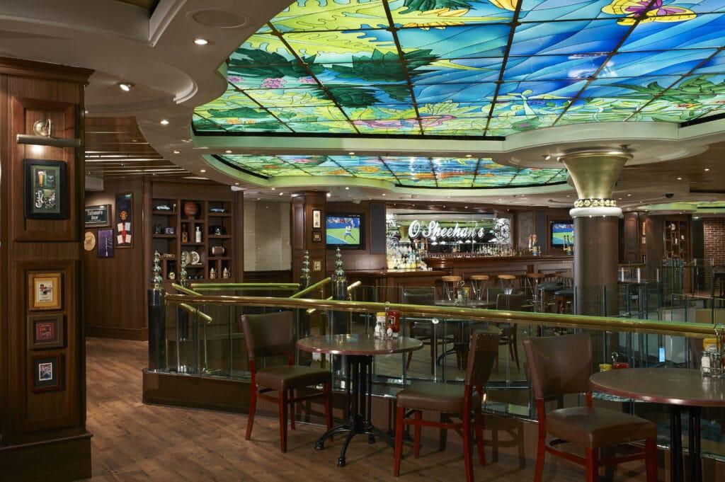 Cruiseschip-Norwegian Star-Norwegian Cruise Line-Restaurant O'Sheehan's