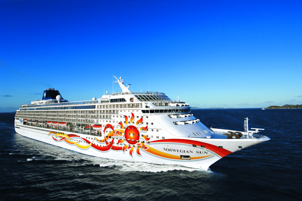 Cruiseschip-Norwegian Sun-Norwegian Cruise Line-Schip