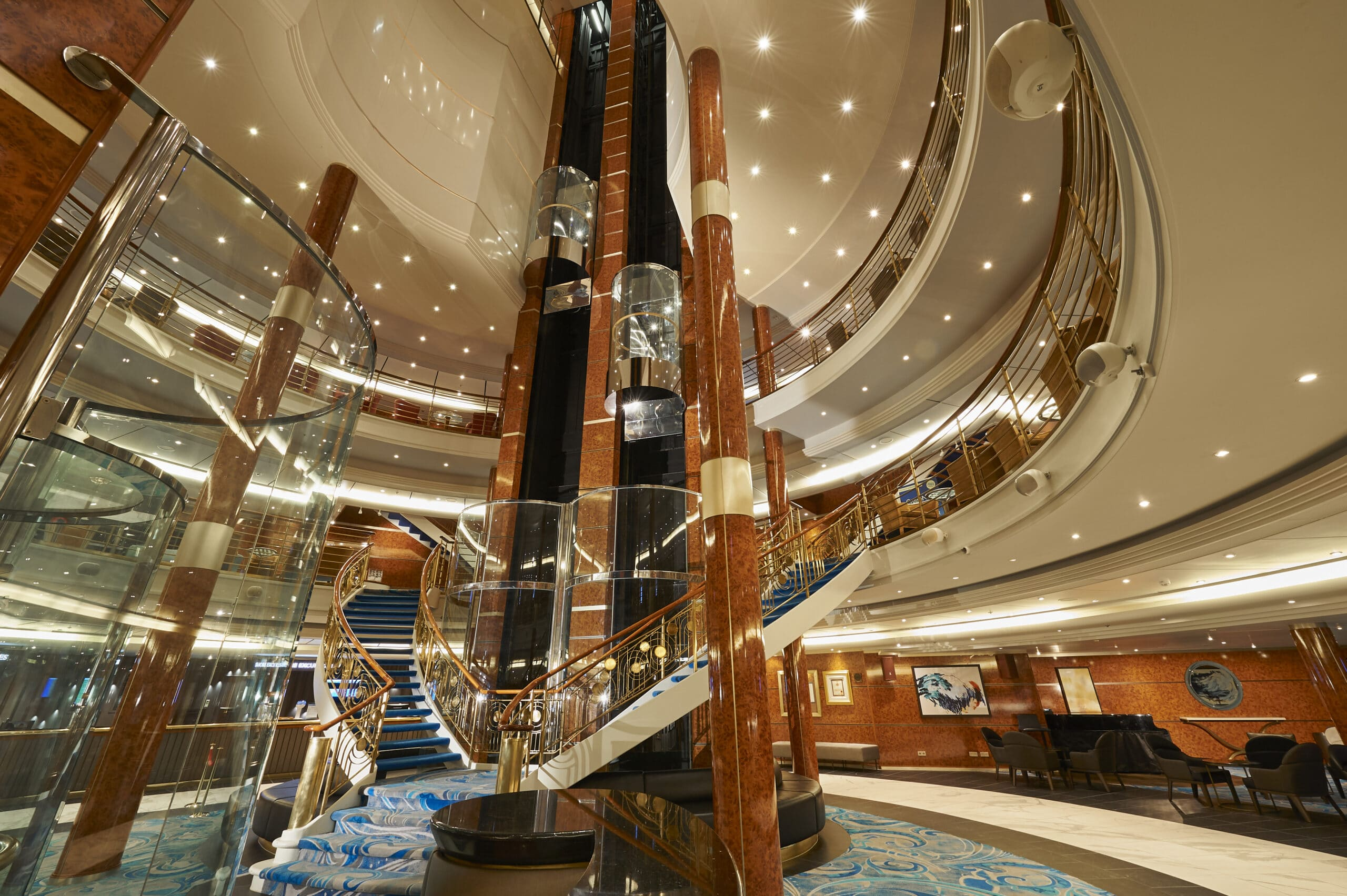 Cruiseschip-Norwegian Sun-Norwegian Cruise Line-Atrium